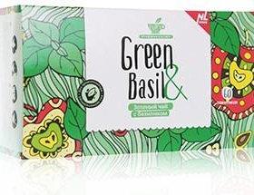 Зелёный чай с базиликом