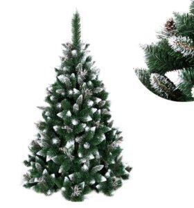 СОСНА 180 см новогодняя елка АЛМАЗ .