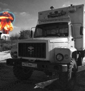 ☠ Газ-3308 специальный фургон мастерская 2002 г.в.