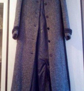 Пальто удлинённое р.44