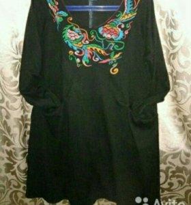 Платье туника р- 48