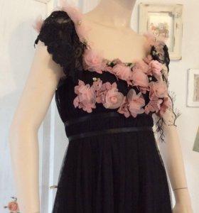 Авторское платье в стиле Ампир.