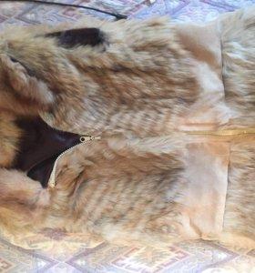 Жилетка меховая лис