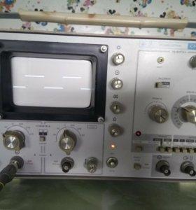 2 канальный 250 МГц осциллограф с1-75