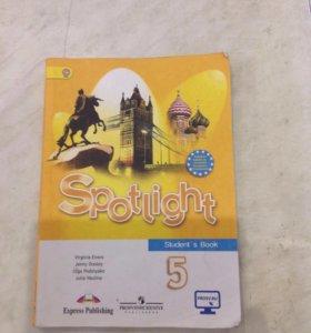 Учебник по английскому языку 5 класс Sportlight