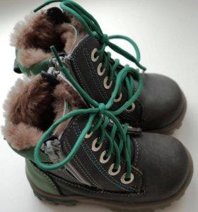 Как новые теплые зимние ботинки Котофей, 21 р-р