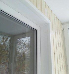 Остекления балконов ,отделка,окна
