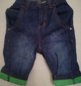 Джинсовые шорты для мальчика 98