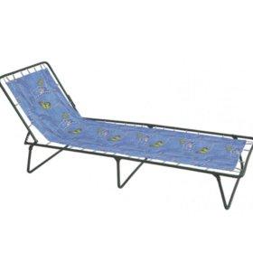 Кровать раскладная (раскладушка) без матраца.
