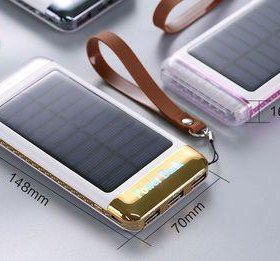 Power bank 5000 mAh (с солнечной батареей)