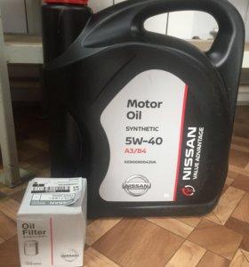 Масло Nissan 5w40 5л