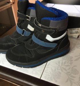 Ботинки на мальчика 35 размер