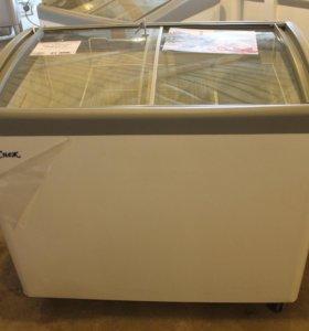 Морозильный ларь на 250 л, стекло
