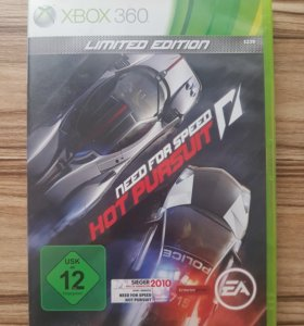 Xbox 360. NFS Hot Pursuit Limited Edition. Лицензи