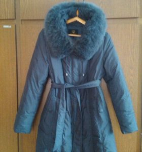 пуховик зимний теплый 50 размер