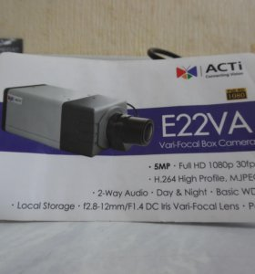 видео камера E22VA