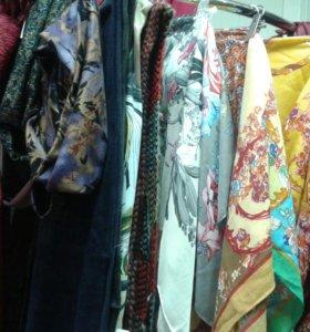 Снуды шарфы платки