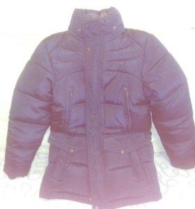 Детская зимняя подростковая куртка