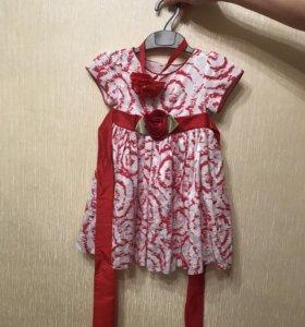 Платье детское на 1 годик
