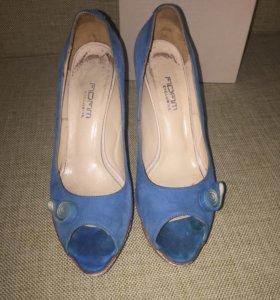 Туфли 38 размер натуральная замша