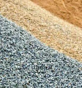 Песок, щебень, Пгс, земля, новоз.