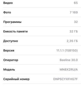 iPhone 7 32 gb матовый чёрный