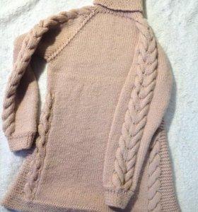 Удлиненный свитер(платье)
