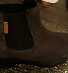 Осенне-весенние ботинки на 36.5