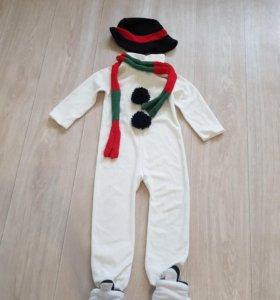 Новогодний костюм 'Снеговик'