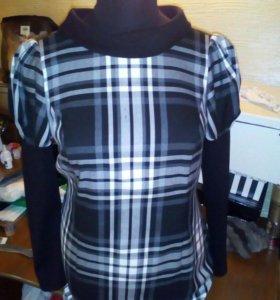 Платье женское.очень удобное стрейч.Длина чуть н/к