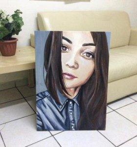 Портреты, шаржи на заказ