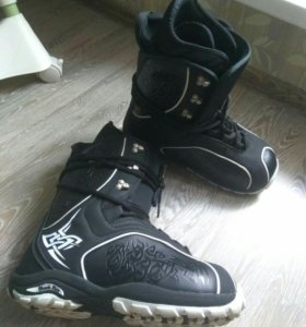 "Ботинки мужские для сноуборда ""Black fire"""