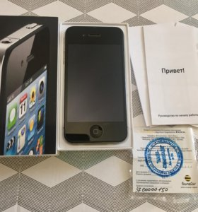 IPhone 4, Black, 8GB