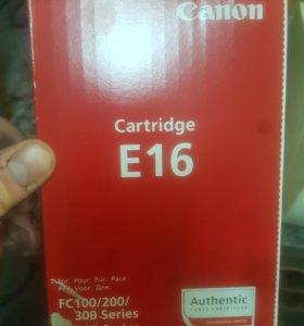 Картридж Canon E16 оригинальный