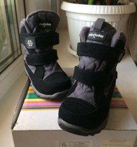 Зимние ботинки новые 26 размер