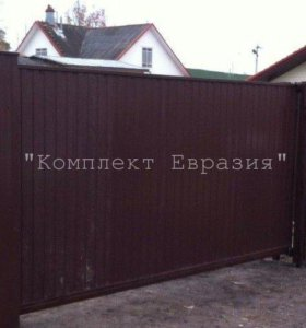 Откатные ворота 3900х1800 мм