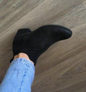 Ботинки vagabond.кожа