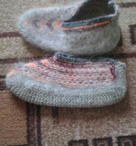 Носки пуховые