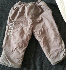 Зимние штанишки на мальчиеп