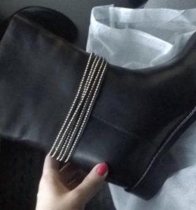 Сапожки ботинки осень зима