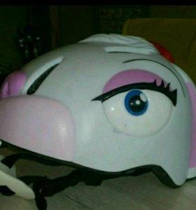 Продам шлем велосипедный детский Crazy Stuff White