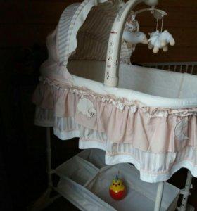 Кровать люлька детская