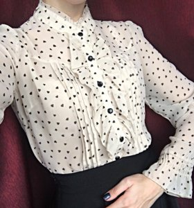 Шифоновая блузка 42-44