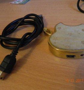 USB зажигалка-прикуриватель и фонарик