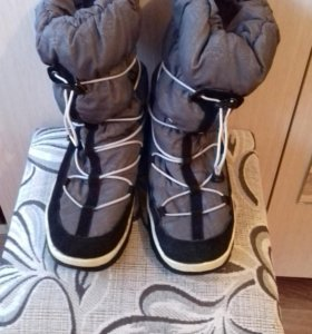 Зимние сапоги дутыши
