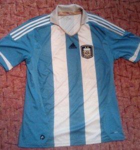 Футболка адидас сборная Аргентина.