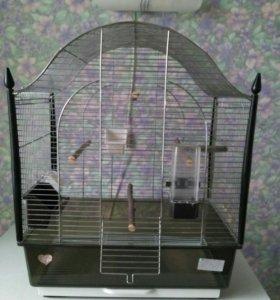 Клетка для среднего и малого попугая.
