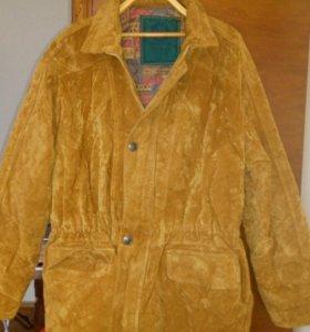 Куртка мужская замшевая новая