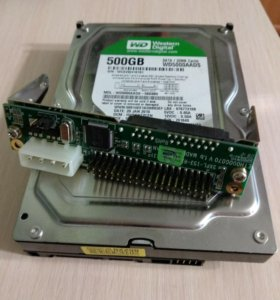 Жёсткий диск 500 Гб