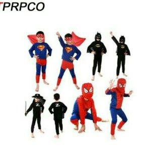 Костюм карнавальный супермен патруль щенячий